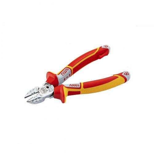 NWS 3 in 1 Tri Side Wire Cutter 160mm VDE Stripper Screw Shear 1000v